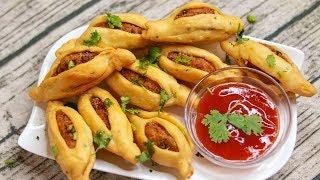 Potato Toffee / Aloo Bites - Quick & Easy Evening Indian Namkeen Snacks Recipe