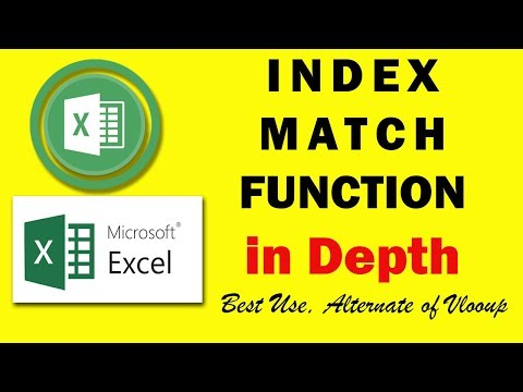 Index Match Function in Detail Advance Use