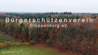 Bürgerschützenverein Cloppenburg e.V. Herbstliche  Luftaufnahme 4K