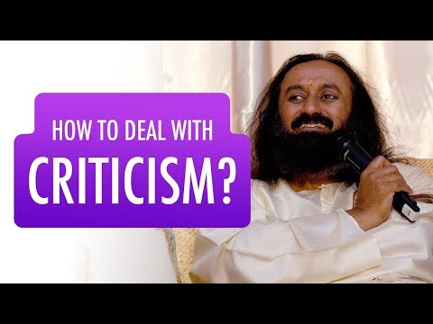 How To Accept INSULTS and CRITICISM? | Gurudev Sri Sri Ravi Shankar