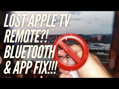 AppleTV Remote LOST?! EASY FIX!!!