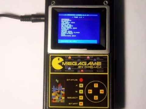 Portable Uze MegaGame console