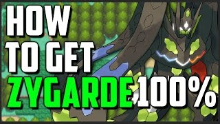 How to get Zygarde 100% Form in Pokemon Sun and Moon (All Zygarde Cell Locations)