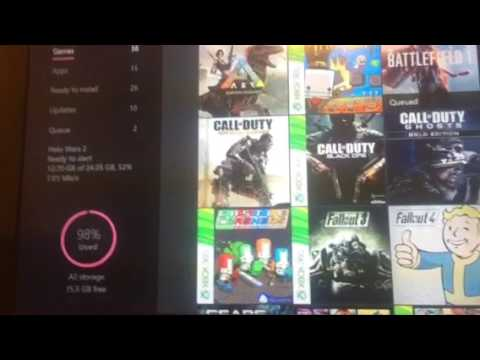 Xbox one: download games while your Xbox is off