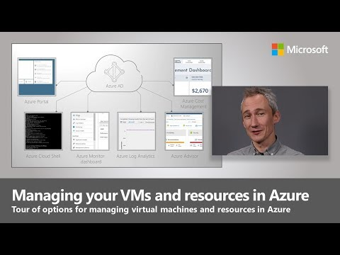Managing your VMs and resources in Azure