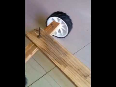 How to make wood RC car