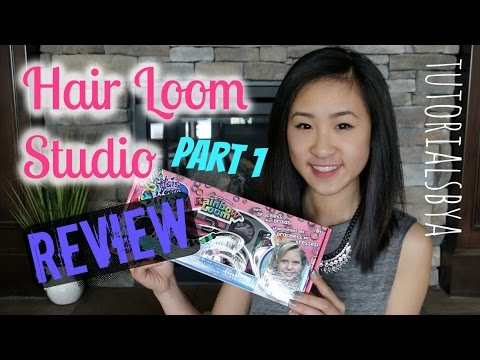 Hair Loom Studio Unboxing Comparison Review | NEW Rainbow Loom Product