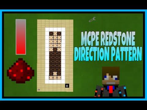 Redstone Lamp Direction Pattern Showcase (Mcpe,Minecraft Pc) Redstone Creations