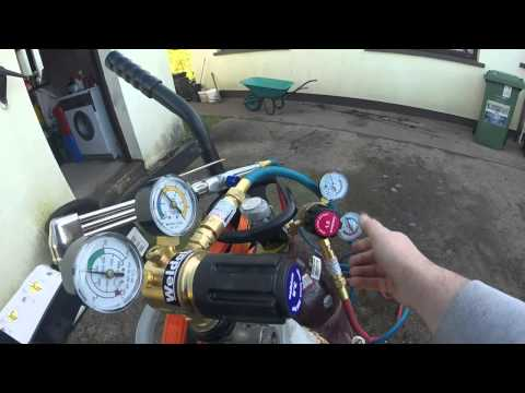 Oxyacetylene cutting set from BOC gases -Part 1