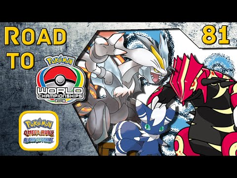 Road to VGC Worlds 2016 #081 - White Kyurem/Primal Groudon/Meowstic [Pokemon ORAS WiFi Battle]