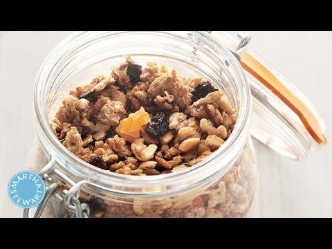 Crunchy Matzo Granola Recipe - Martha Stewart