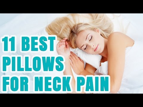 11 Best Pillows For Neck Pain 2017