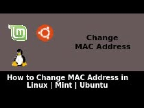 How to Change MAC Address in Linux | Mint | Ubuntu | MAC Changer | Linux Change MAC Address
