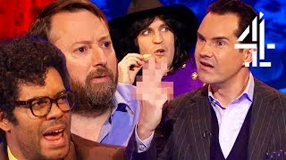 Jimmy Carr Completely Loses Control Over The Show | Big Fat Quiz Of The Year 2017