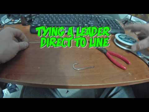 Tying Your Own Steel Leaders - How To