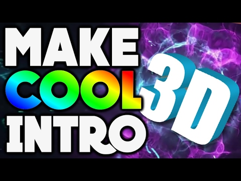 How to Make an INTRO for YouTube Videos FOR FREE! Phone/Tablet Intro Tutorial! (2017)