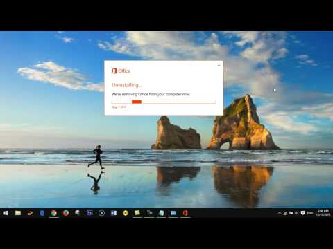 Microsoft Office 2016| How to uninstall office 2016 in windows 10 [new]