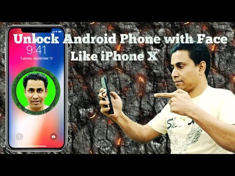 Unlock Android Phone with Face Like IPhone X By Rohingya Technic