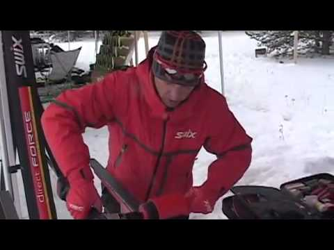 Swix Nordic Waxing Clinic 2010 (Part 1 of 2) on SkiGearTV