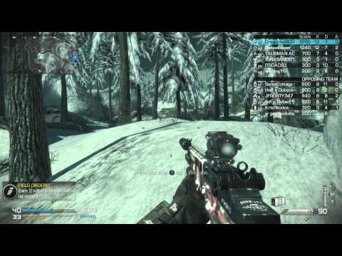 Call of Duty Ghosts - TDM - Whiteout (12/27/2013) - (75-55)