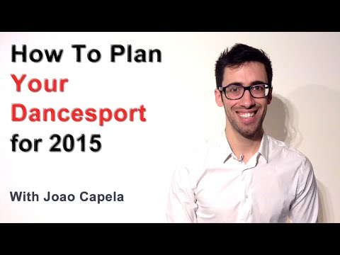 How to Plan Your Dancesport for 2015