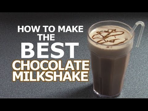 How to Make The Worlds BEST Chocolate Milkshake!