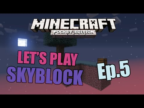 Minecraft PE (0.15.7): Skyblock - More Islands! Collecting Seeds! - Ep.5