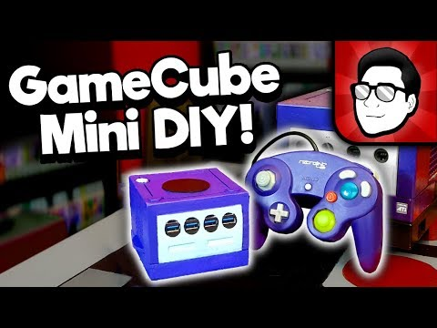 Building the GameCube Classic Edition Mini Console - DIY! | Nintendrew