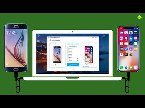 How to Transfer Data from Samsung Galaxy S6 / S6 Edge+ to iPhone X ?