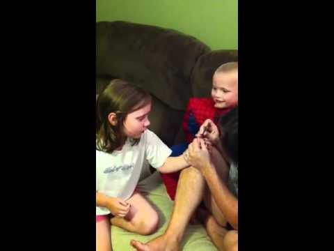 Tiny splinter causes big drama