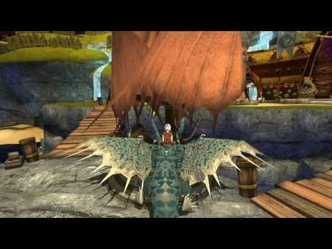 School of Dragons - gameplay - Dragon flying