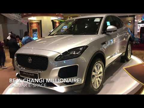 Win A Jaguar E Space Changi Airport Millionaire!