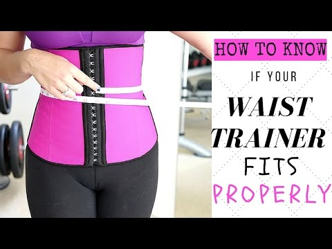 How To Know If Your Waist Trainer Fits Right!?