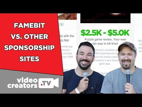 FameBit vs. Other YouTube Sponsorship Sites