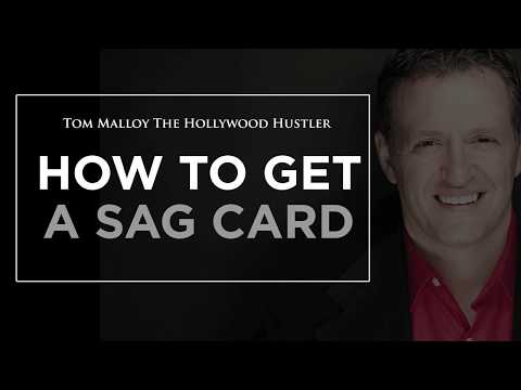 The Myth About Getting a SAG Card
