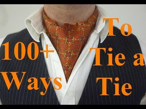How to Tie an Ascot or Cravat without it coming undone, The Day Knot