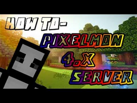 HOW TO Make a Pixelmon 4.0.4 Server (1.8.X) (Minecraft Pixelmon 4.0.4 Server Tutorial)