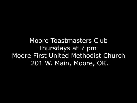 Moore Toastmasters PSA