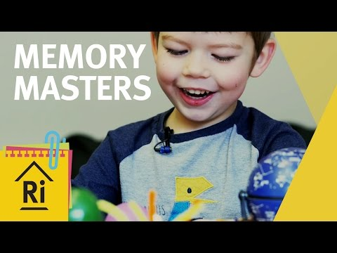 How To Remember Things - Psychology Experiments for Kids - ExpeRimental #21