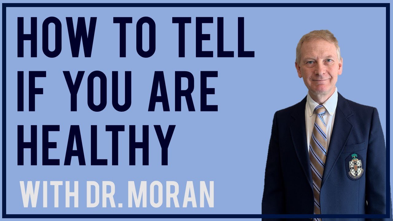 How to tell if you are healthy