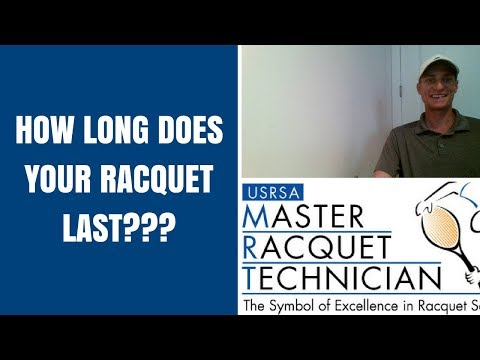 How long does your tennis racquet last???