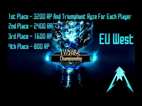 League of Legends Championship On EuW Hosted By Arctic Miners