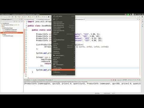Java 8 streams reduce function tutorial