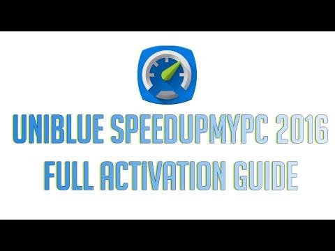 Uniblue - SpeedUpMyPC 2016 Full Activation Guide Free + Serial Key