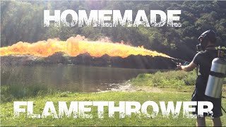 Download Homemade Flamethrower w/ Backpack! Seen on Grant Thompson King of Random *Link in Description* Video