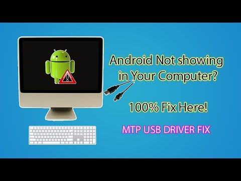 Android MTP Device Not Showing in Computer - MTP USB Device Driver Fix