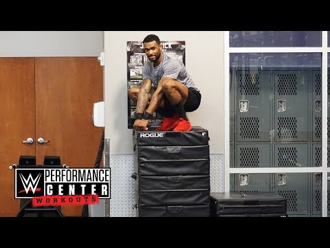 How Montez Ford got the best vertical leap in NXT: WWE Performance Center Workouts, April 13, 2018