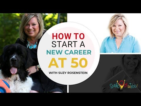 How to Start A New Career at 50 with Suzy Rosenstein | EPI 003