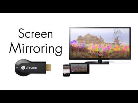 Screen Mirroring With Chromecast