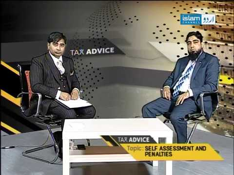 Tax Advice(Topic:Self Assessment and Penalties)